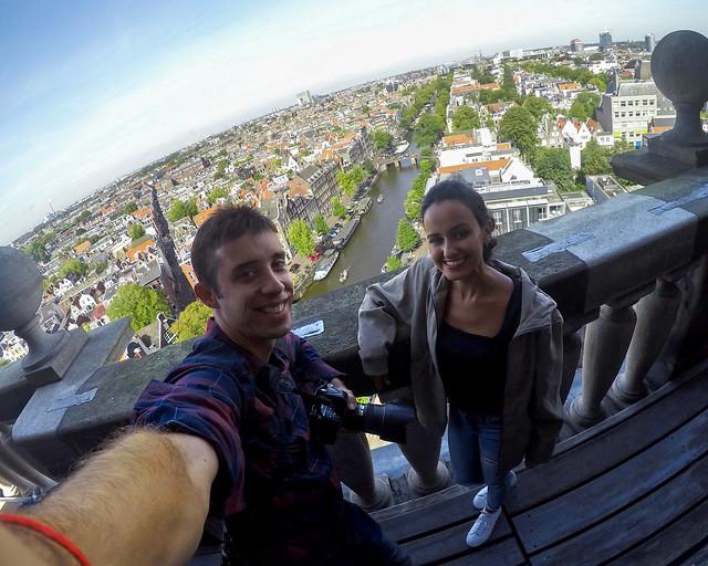 Vistas desde Iglesia de Westerkerk