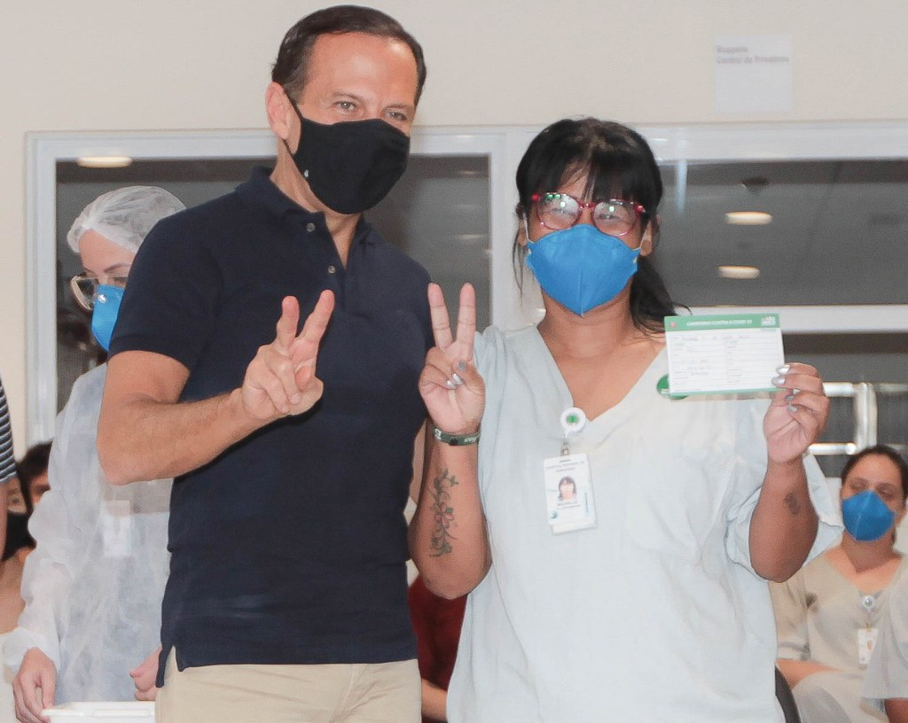 Início da imunização em Sorocaba