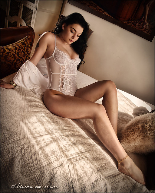 Elegant Sensual Boudoir - Alisha