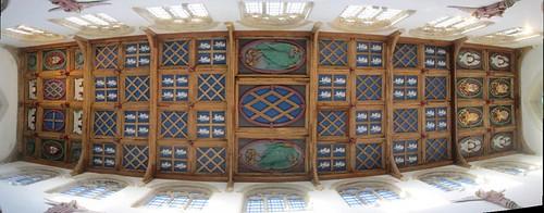 Auckland Castle, Chapel Ceiling