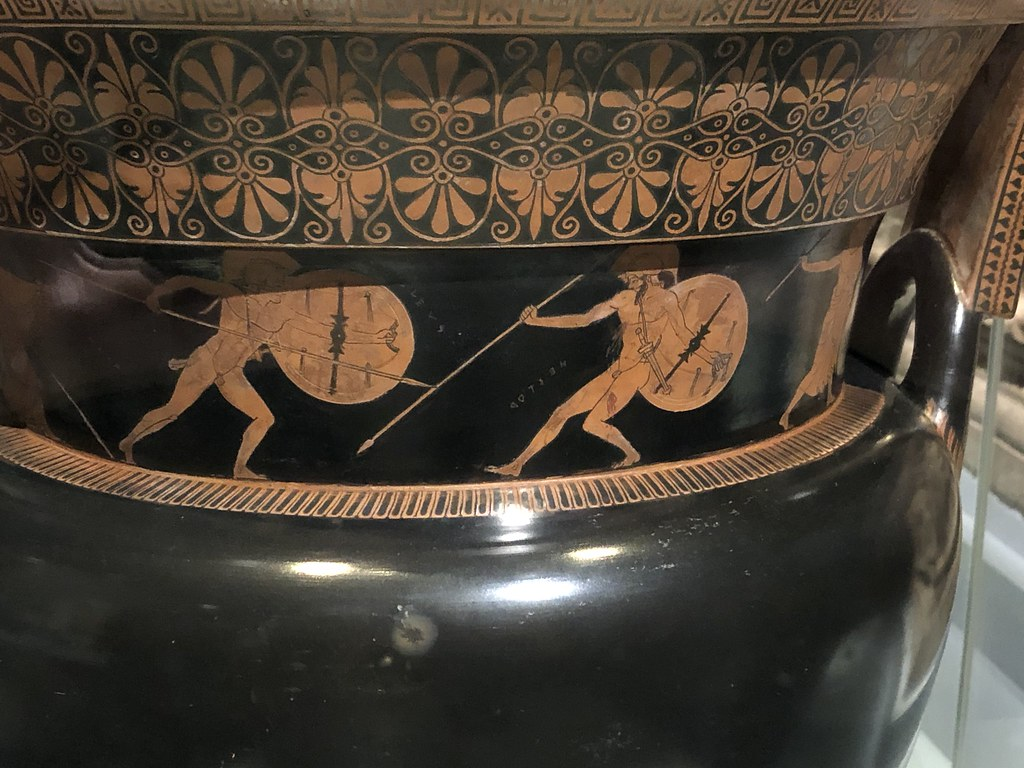 Achilles fights Hector