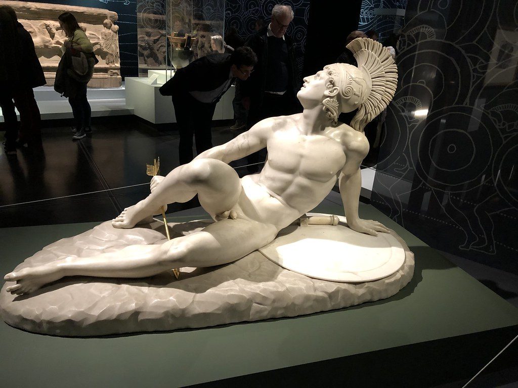 The Wounded Achilles, 1825