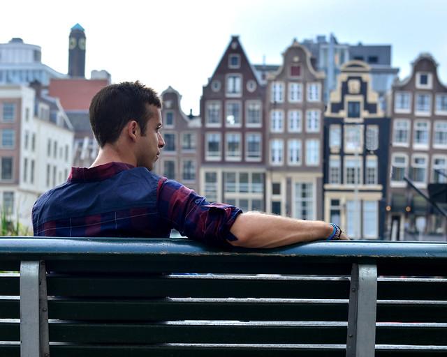 Casas danzantes de Amsterdam