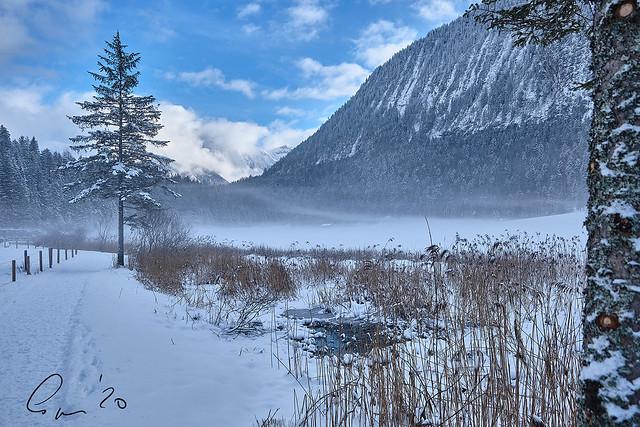 Nebelmeer am Ferchensee