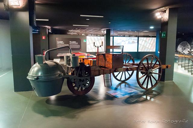 Carro di Cugnot - 1769