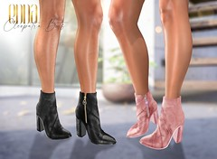 New Release@Cleopatra Anckle Boots