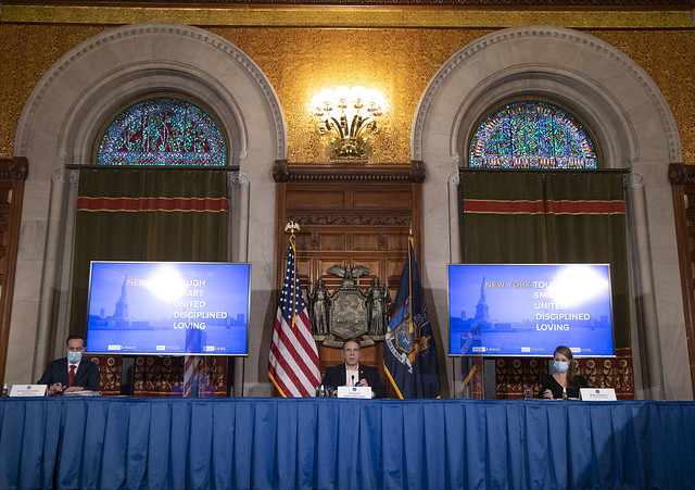 Governor Cuomo Holds Briefing on COVID-19 Response - 1/20