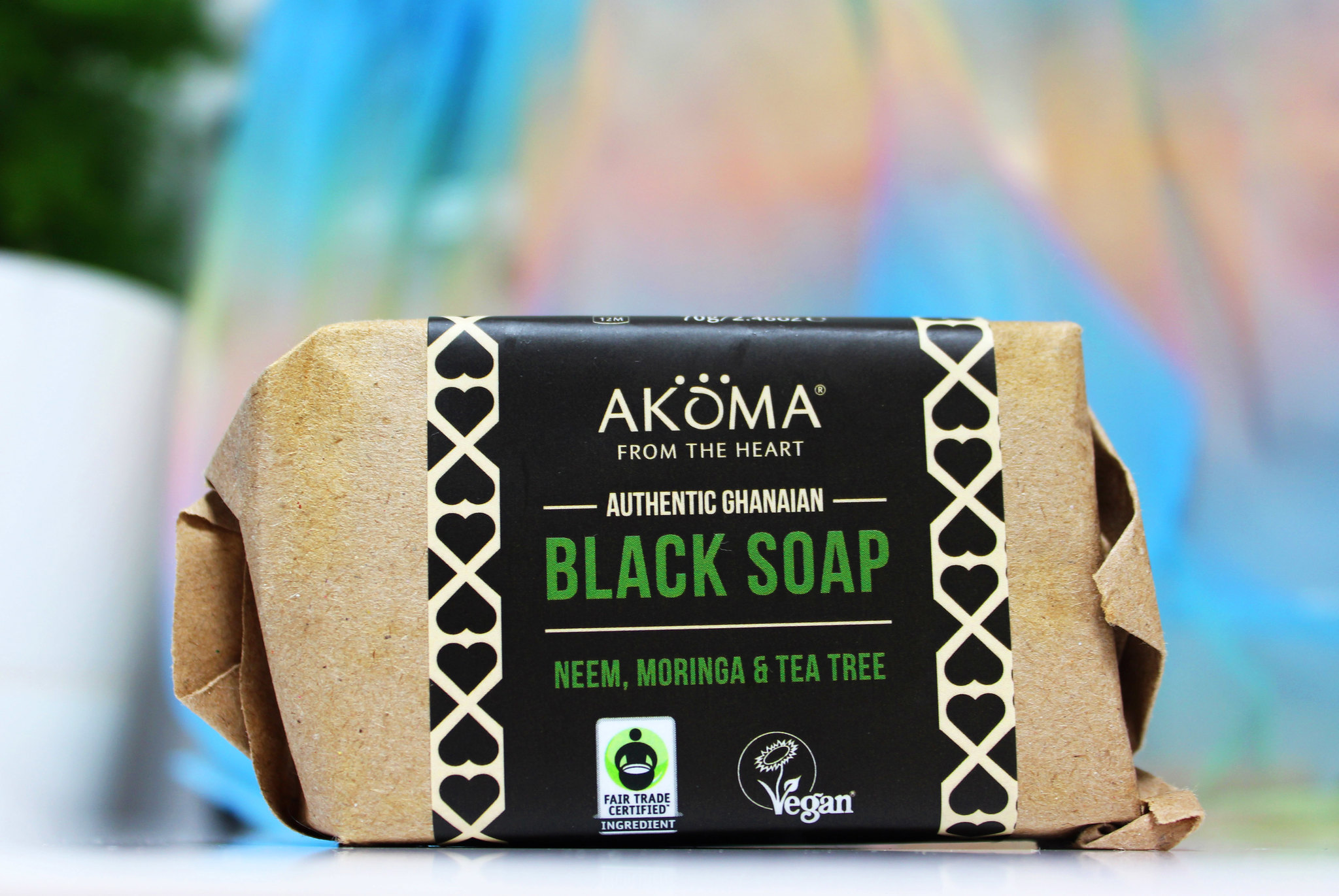 Akoma black soap