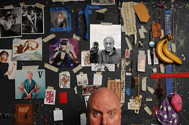 Portrait with Robert Frank