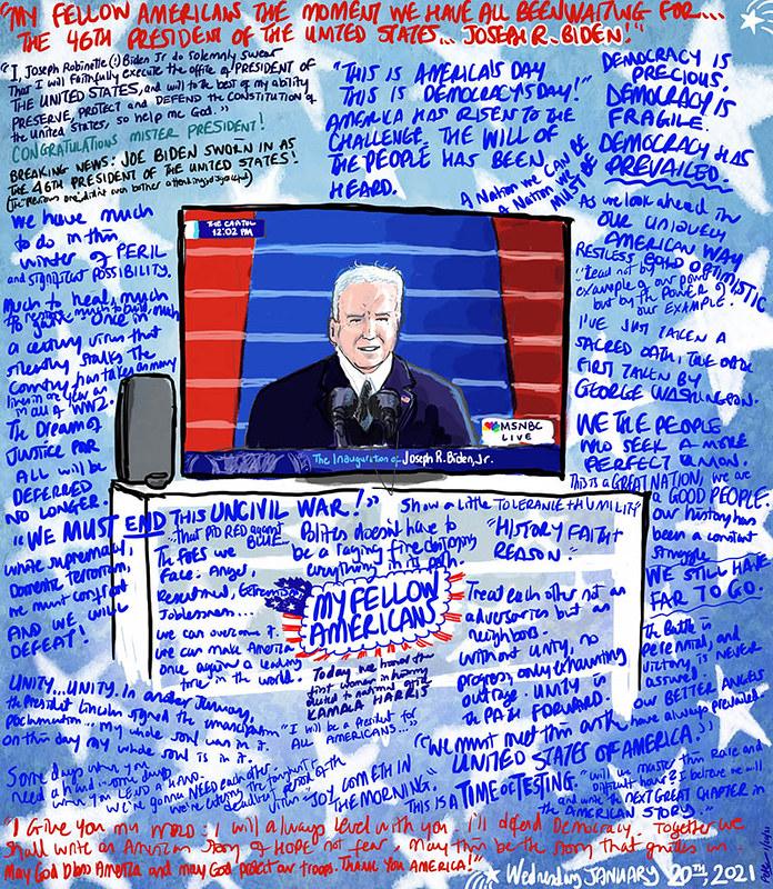 Biden inauguration 012021 sm