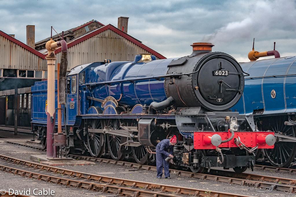 6023 King Edward II at Didcot