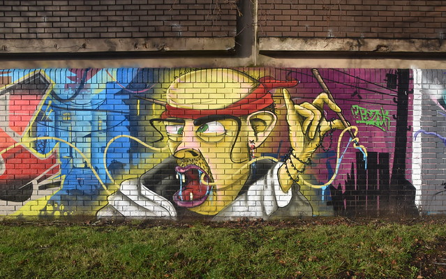 Spray Painting at Ex Wholesale Market