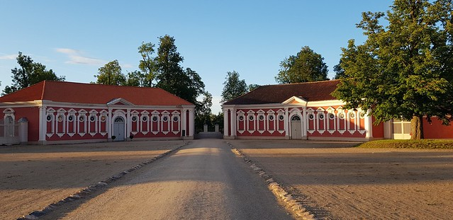 Rundale Palace | The stables and inner courtyard