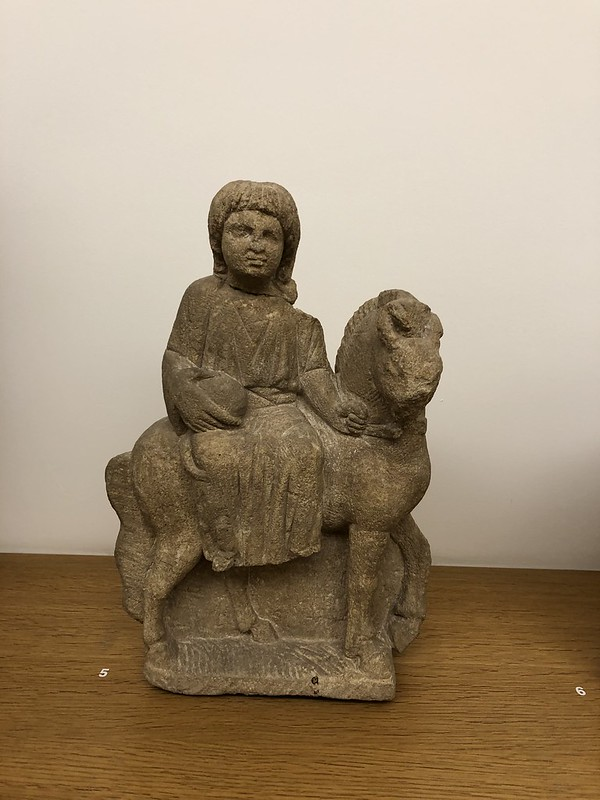 Statue of Rosmerta on a Horse