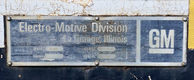 Faded Builder's Plate - signs