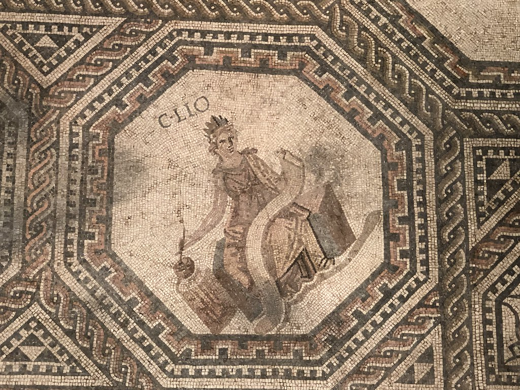 Mosaic Detail of Clio