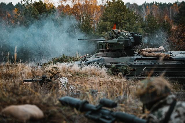 Spezialgrundausbildung des Panzergrenadierbataillons 371