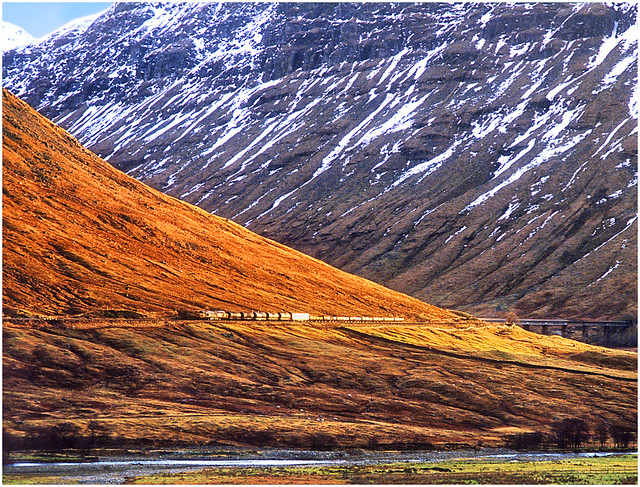 First light in the West Highlands