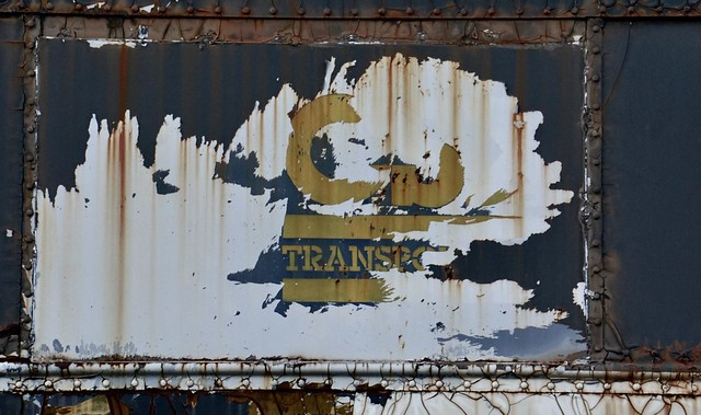 Old CSX Coach - Faded signs