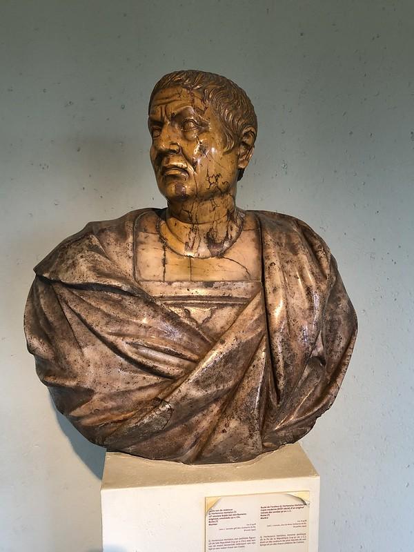 Bust of the orator Q. HortensiusHortalus