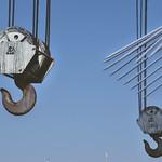 Hooks at Preston Docks