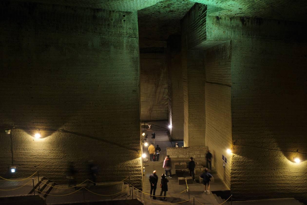 大谷資料館 地下に広がる神秘の遺跡