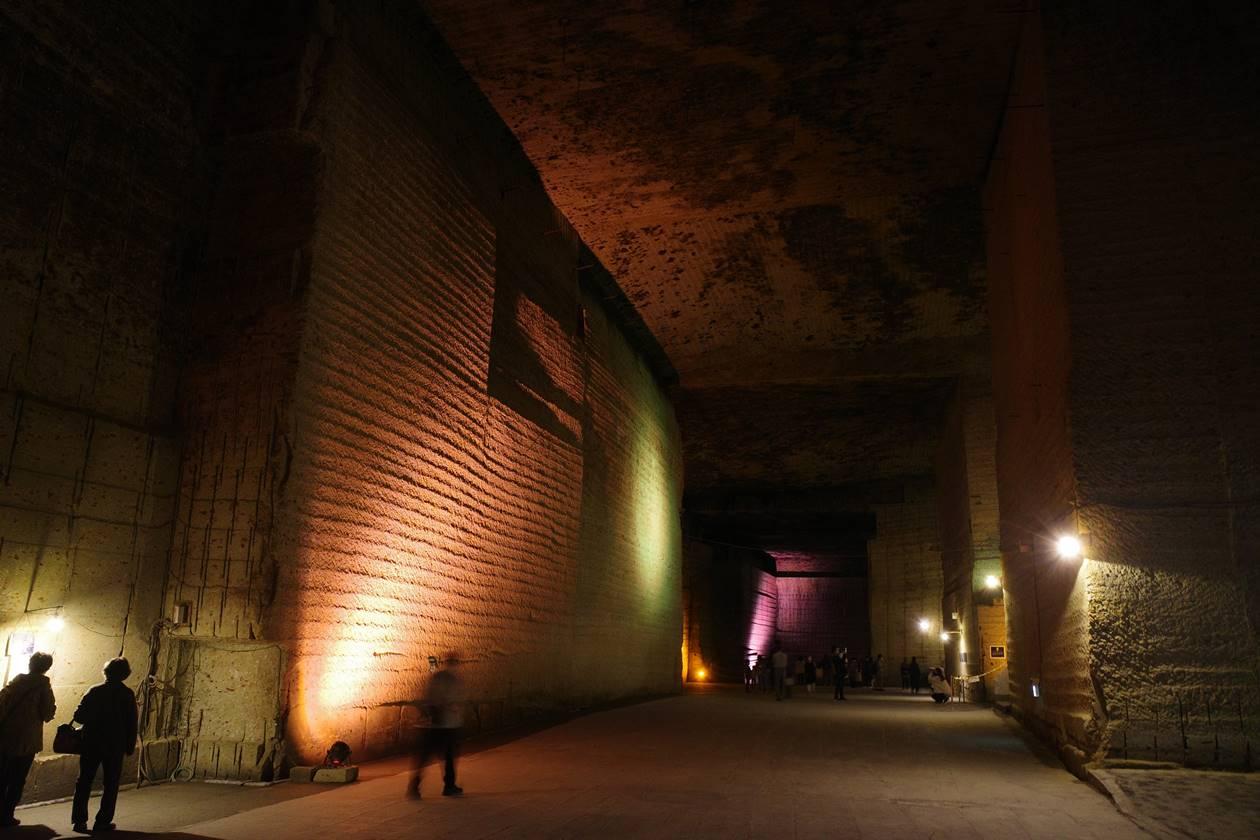 大谷資料館 巨大な地下神殿