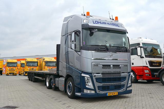 NL - Volvo FH4 Globetrotter XL - Lohuis Nijverdal