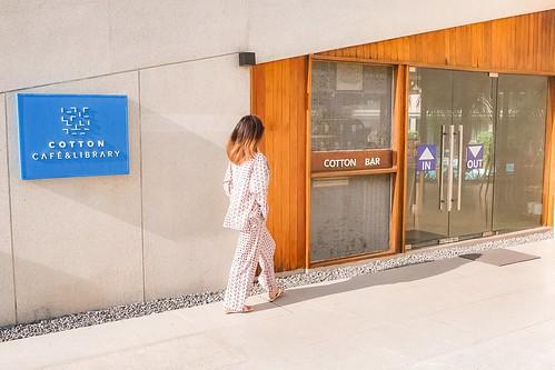 คาเฟ่ COTTON CAFE & LIBRARY เขาหลัก พังา