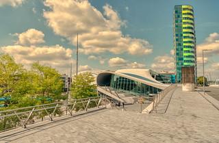 Arnhem train station & Arnhem Park Tower.
