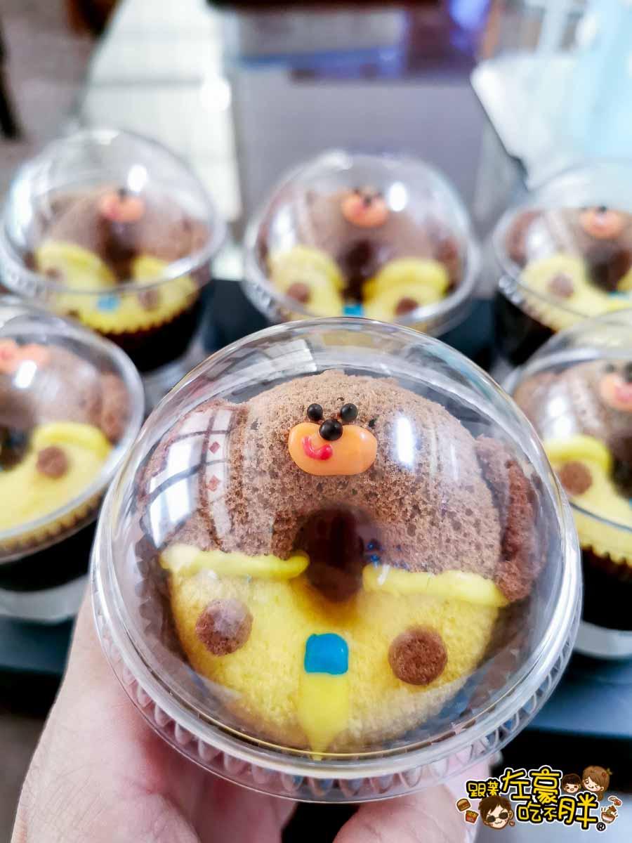 白兔朵朵造型蛋糕 高雄造型蛋糕 小泡菜生日蛋糕-28