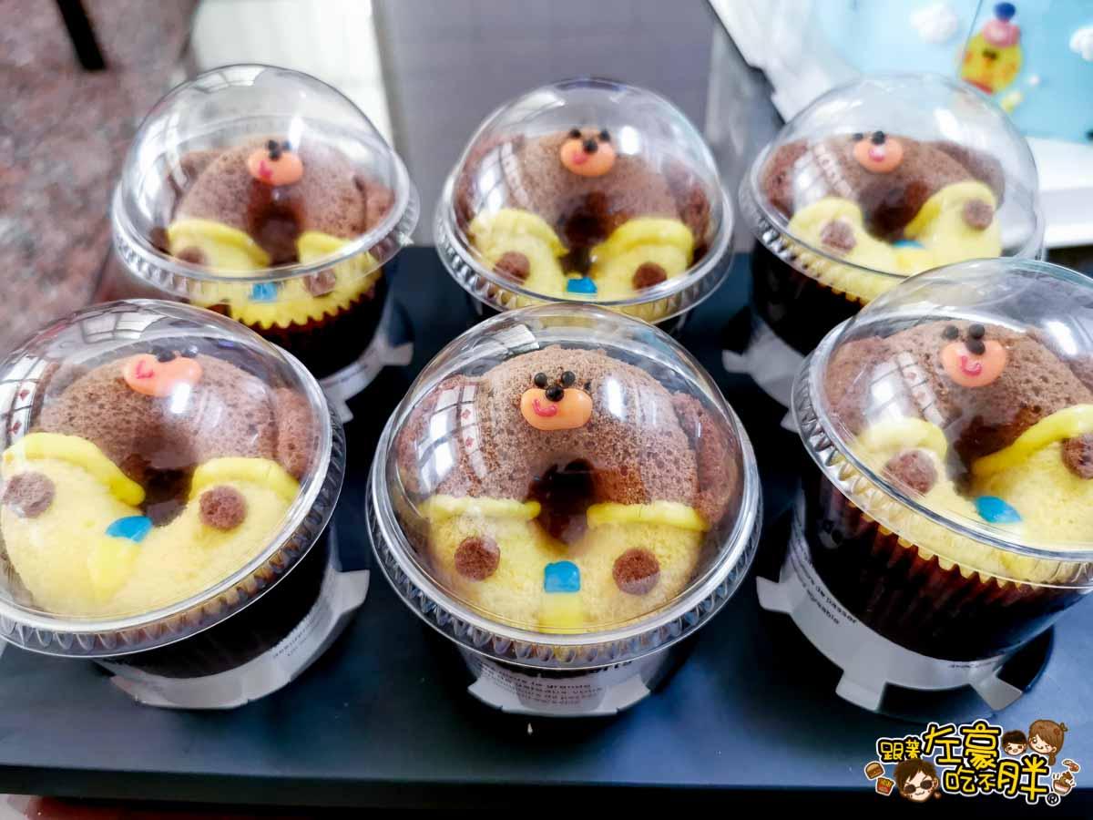 白兔朵朵造型蛋糕 高雄造型蛋糕 小泡菜生日蛋糕-31