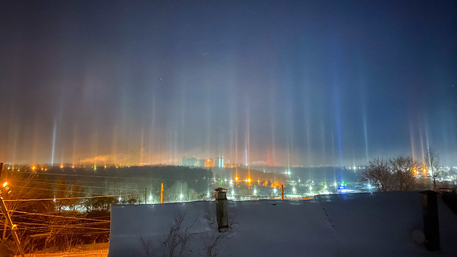Light pillar