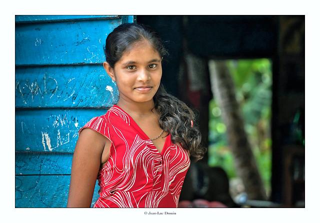 La jeune fille de Négombo