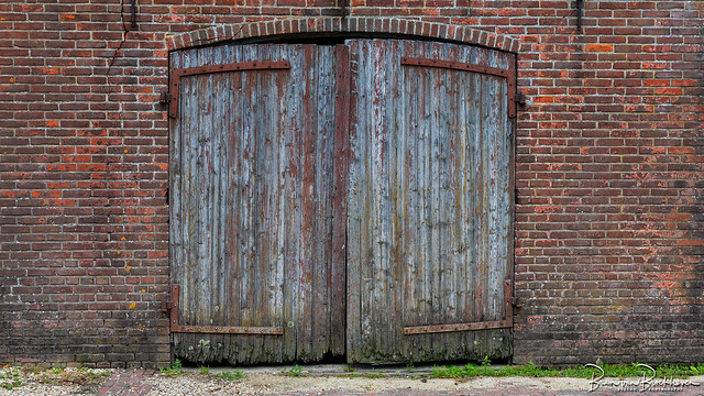 Dilapidated barn doors (DDD/TDD)