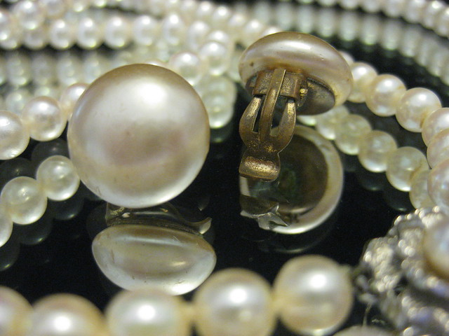 My Grandmother's Pearl Earrings