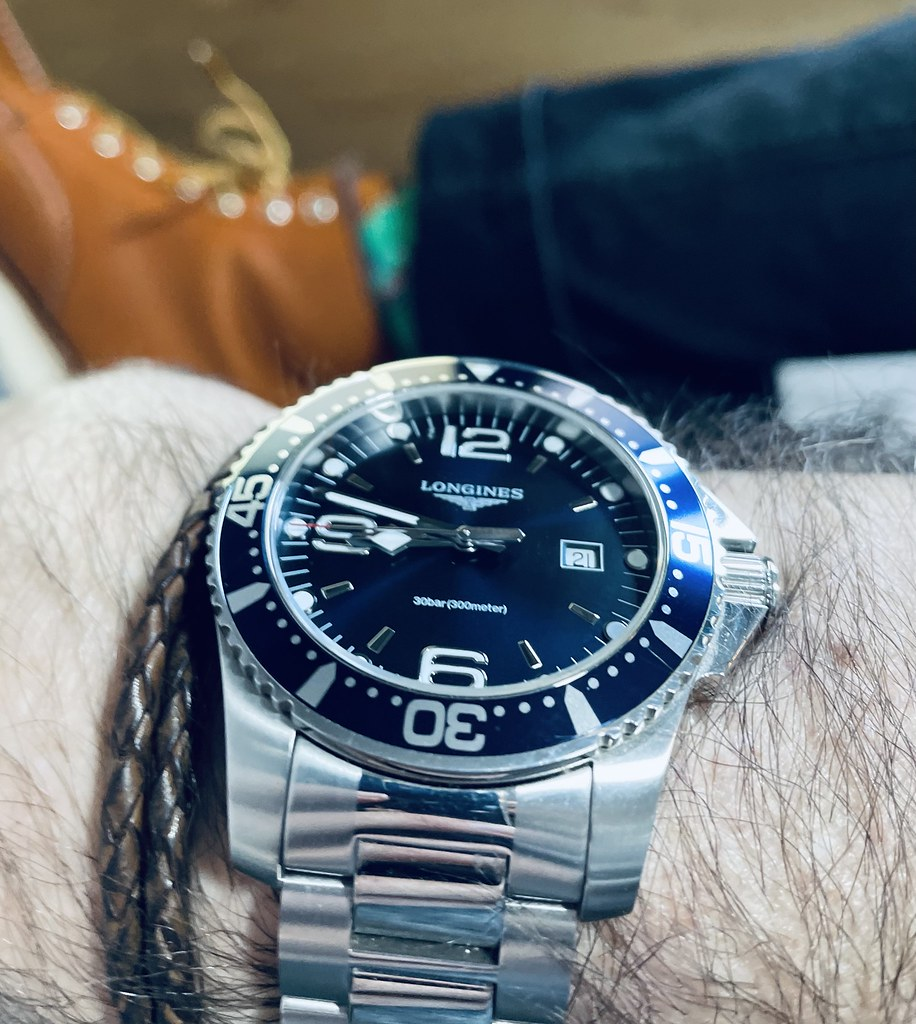 Longines Hydroconquest & Redwing boots 2