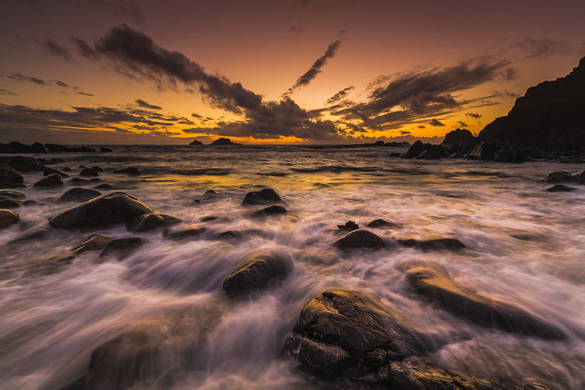 Priest's Cove Sunset - Cape Cornwall
