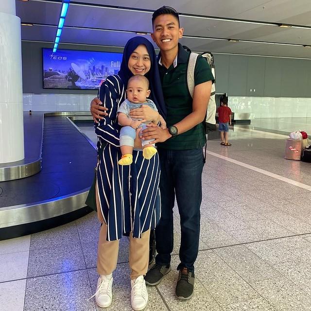 Dayah Bakar Bawa Anak Jumpa Suami, Ambil Keputusan Berhijrah Ke Australia