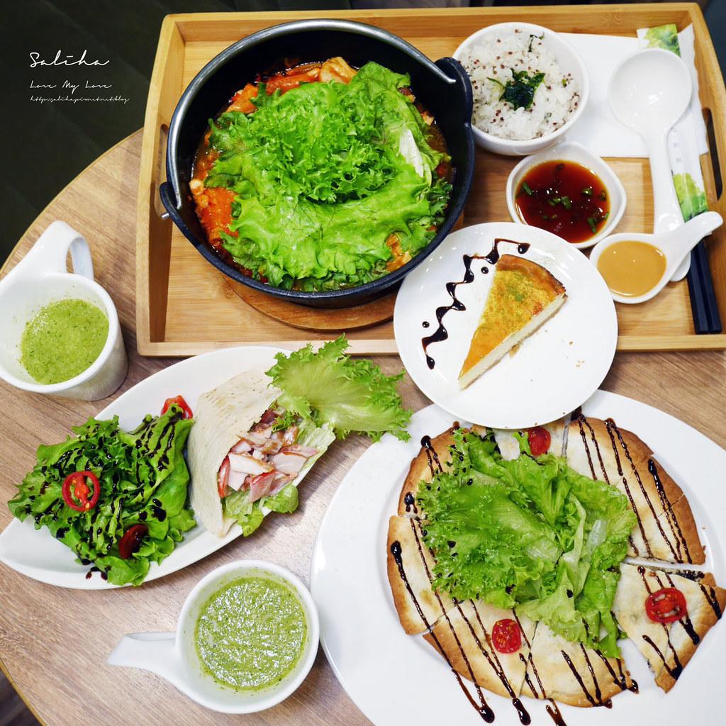 台北東區sogo忠孝復興站附近美食餐廳推薦nicegreen美蔬菜廚房