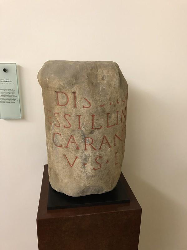 Votive Inscription to the Di Casses