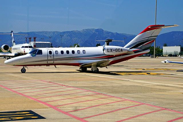 LX-GCA Cessna 525B CitationJet CJ3+  Palma 24-06-2017