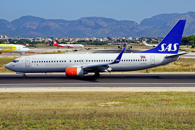 LN-RRE 737-85P SAS  Palma 24-06-2017