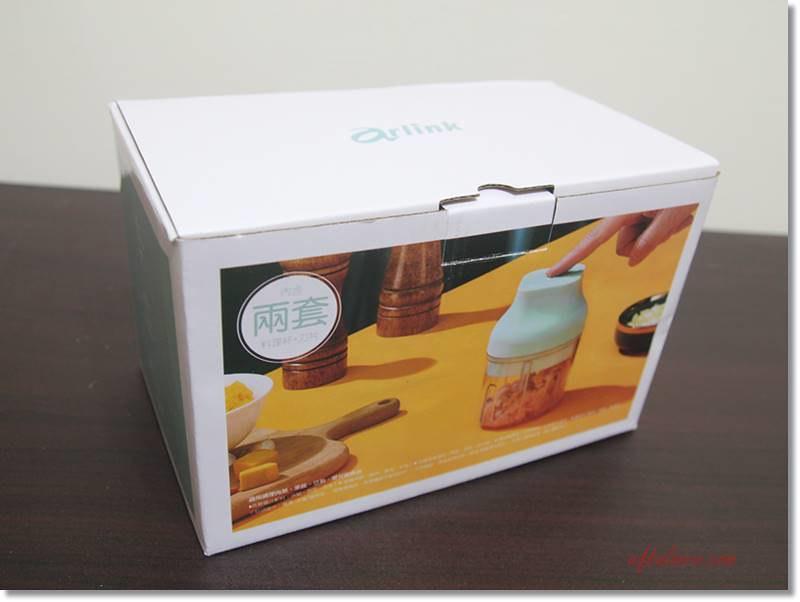 Arlink電動食物調理機(鬆搗菜菜籽)外包裝