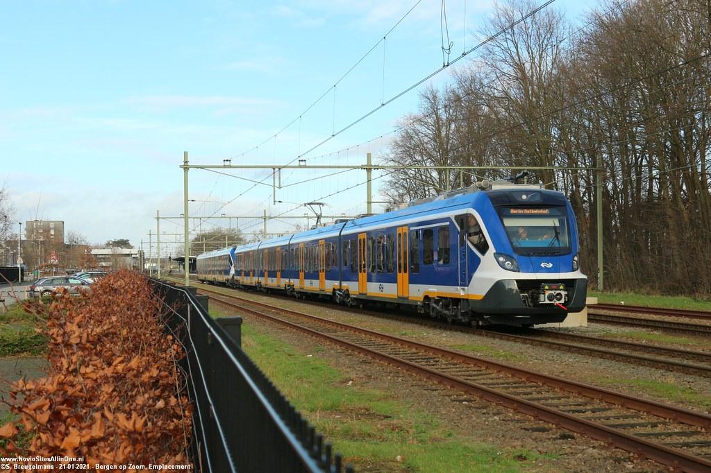 NS 2752 & 3002 - Bergen op Zoom 21-01-2021.