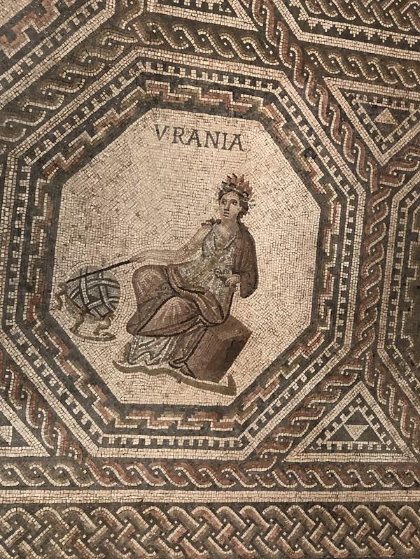 Mosaic Detail of Urania