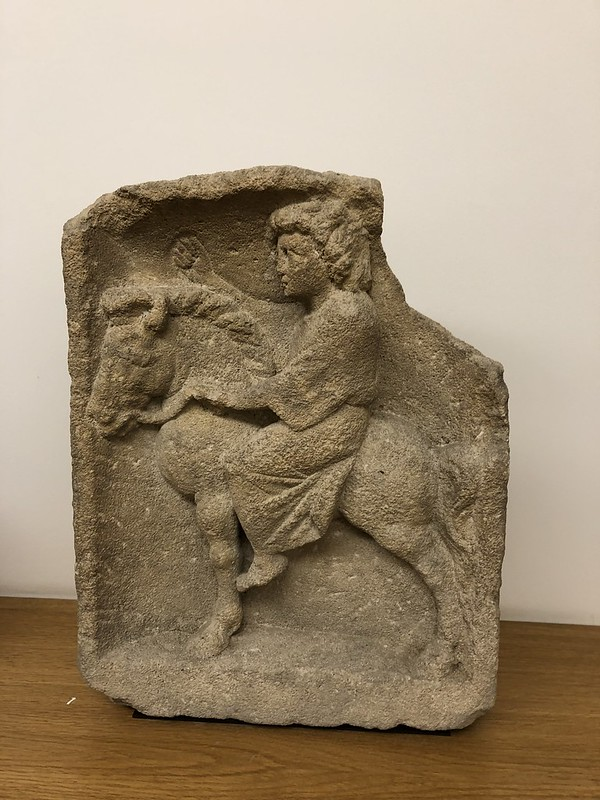Relief of Mercury on a Donkey