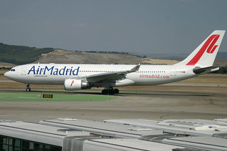 EC-IYB. A-330/200. Air Madrid. MAD.