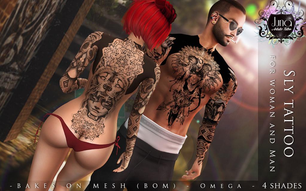 Sly tattoo Unisex