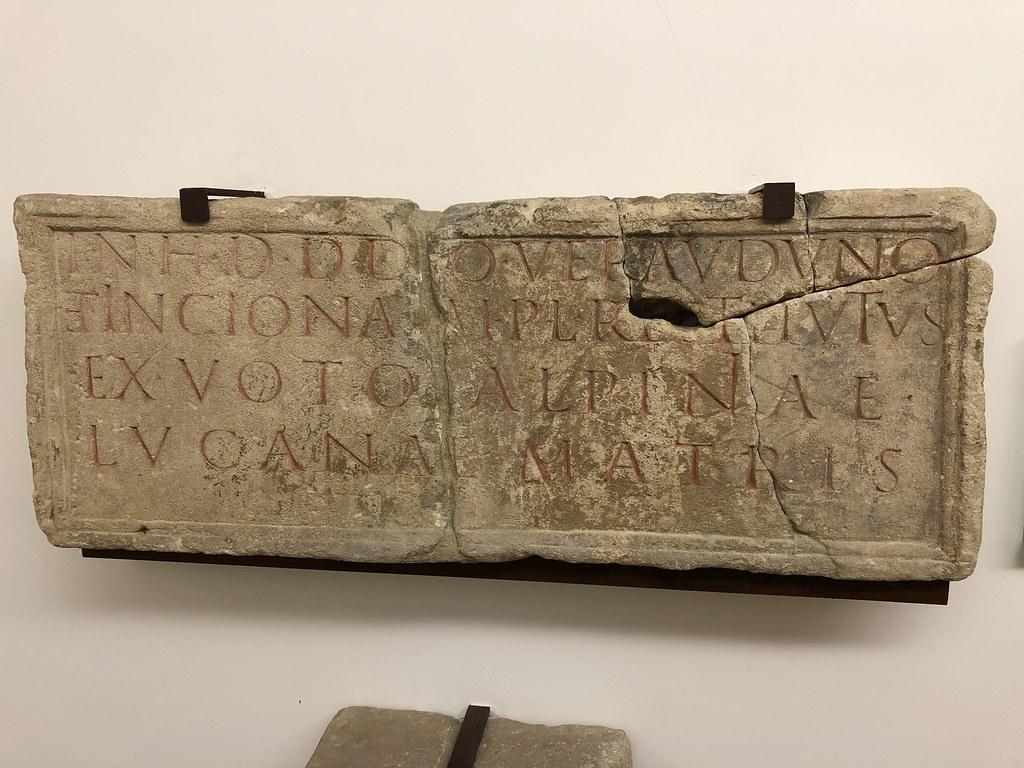 Votive Inscription to Veraudunus and Inciona